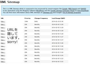 XMLファイルの表示