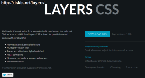 LAYERS CSS
