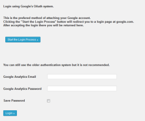 Google Analytics Dashboardの設定