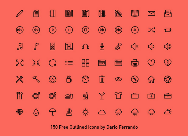Freebiesbug Flat icons