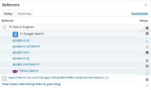 検索エンジン解析