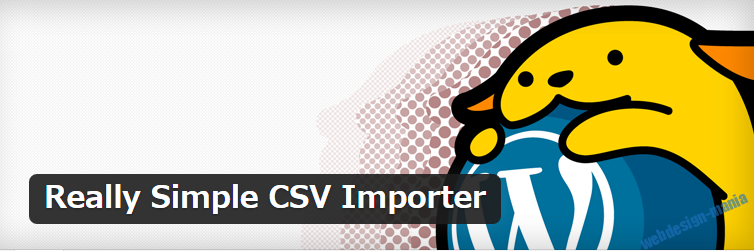 Import really simple csv
