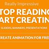HTML5ベースのアニメーションを手軽に作成出来るウェブアプリ