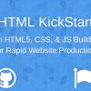 レスポンシブサイト構築に便利なCSSフレームワーク、グリッドデザイン搭載の「HTML KickStart」